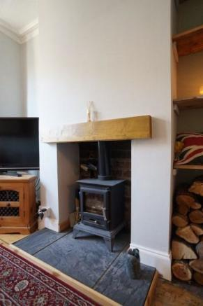 Feature Wood Burner
