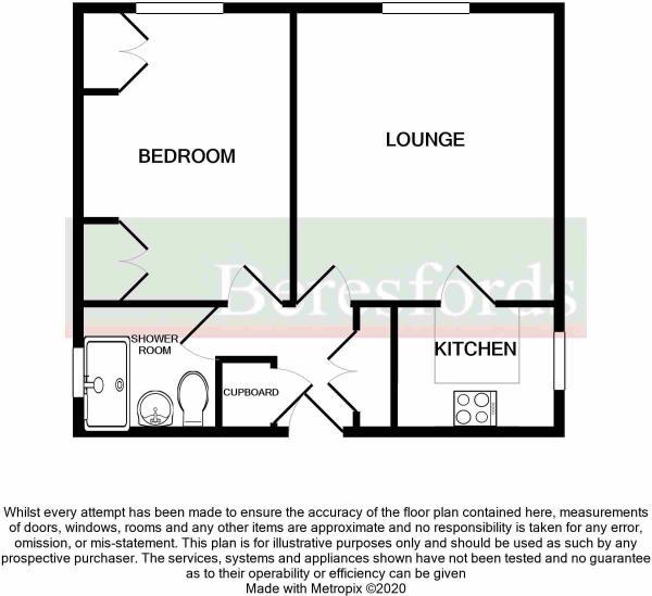 1 Bedroom Apartment For Sale In Bakers Court, Queens Road