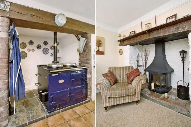 Aga/wood burner