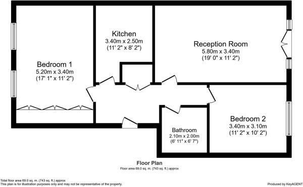 Kingsley Mews Floorplan