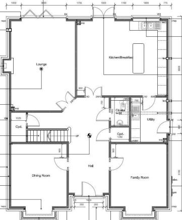 Ground Floor Plan -