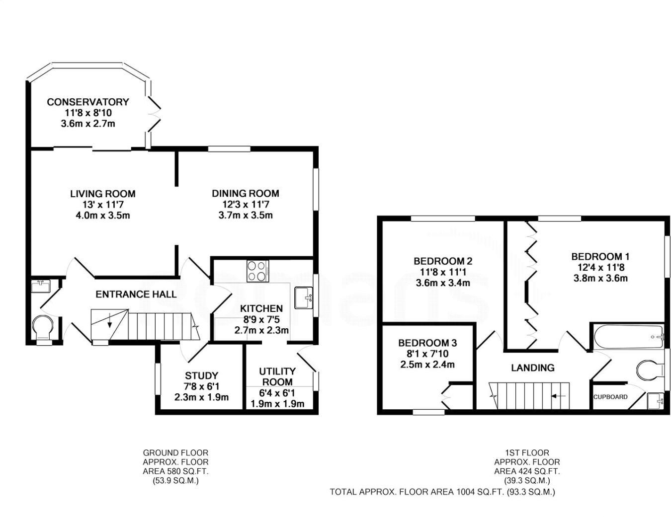 3 Bedroom End Of Terrace House For Sale In Saffron Court Romans 8 Block Diagram Farnborough Hampshire Gu14