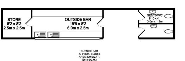 Floorplan: Outsid...