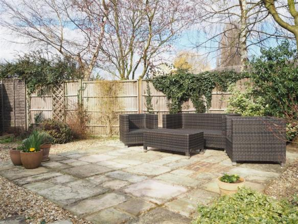 Secluded Rear Patio 802