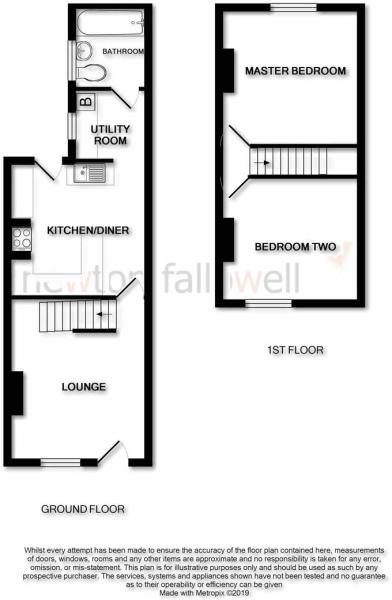 Sydney Terrace: Floorplan