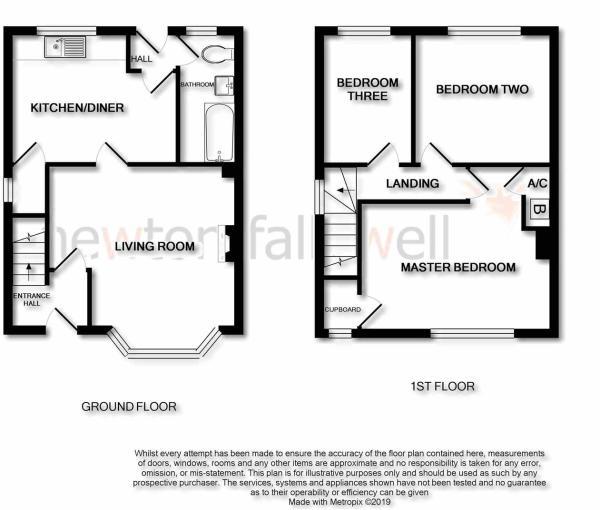 Beech Avenue: Floorplan