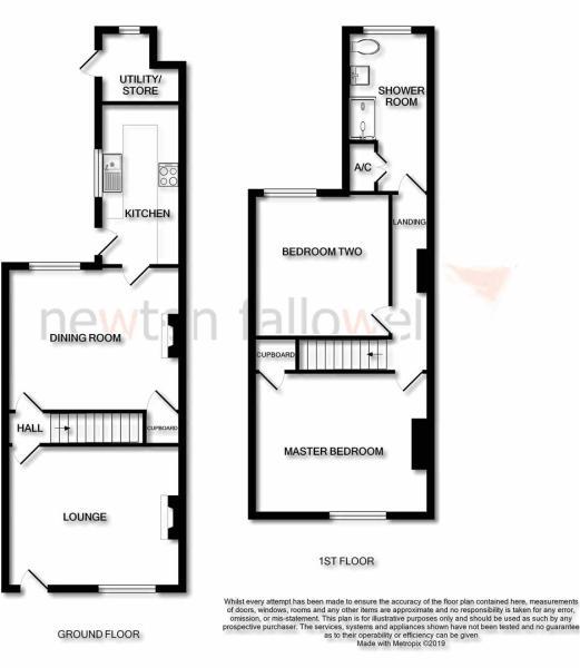 Warburton Street: Floorplan