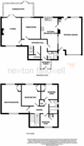 Parklands Close,Coddington: Floorplan