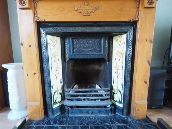 Open Fireplace 393