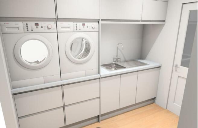 Utility Room  Illustration