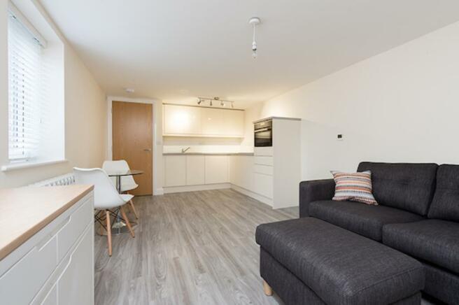 Kitchen/living area