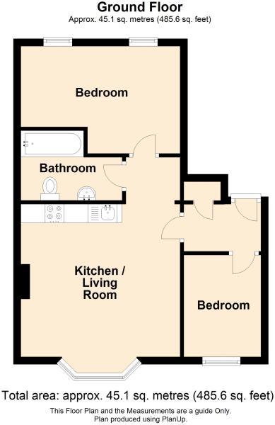 2 bed 1st floor