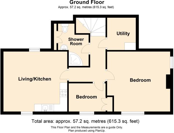 2 bed 2nd floor