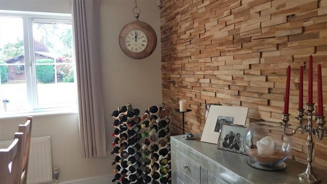 Feature Dining Area Wall