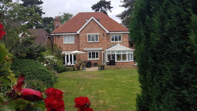 House from Rear Garden