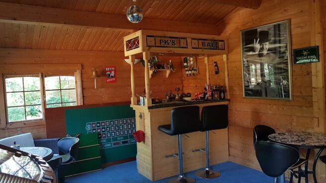 Entertainment cabin