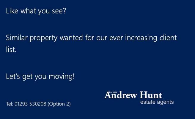 Similar Property Wanted