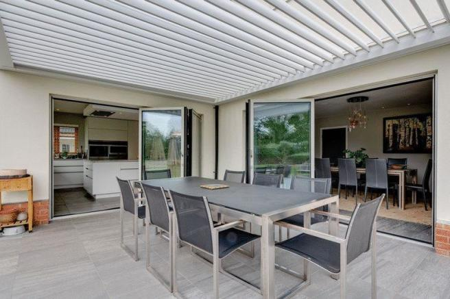 Covered patio