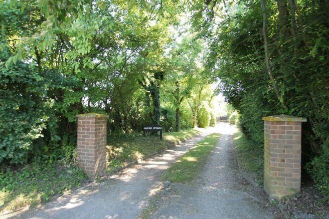 Pillared Driveway