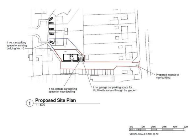 Proposed site ...