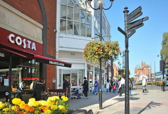Burton upon Trent town centre