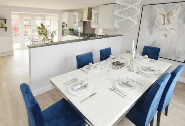 Drakelow Park Layton Show Home Kitchen