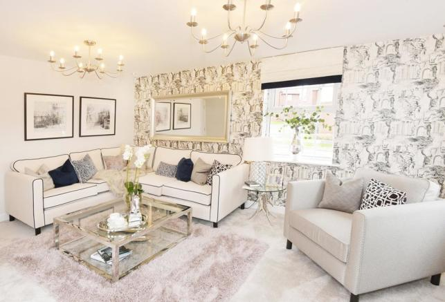 Drakelow Park Layton Show Home Lounge