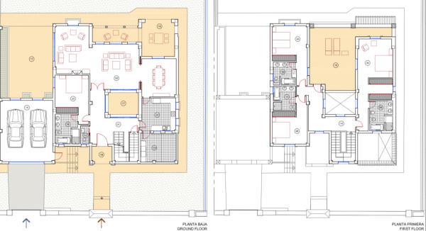 Floor plans Villa .j