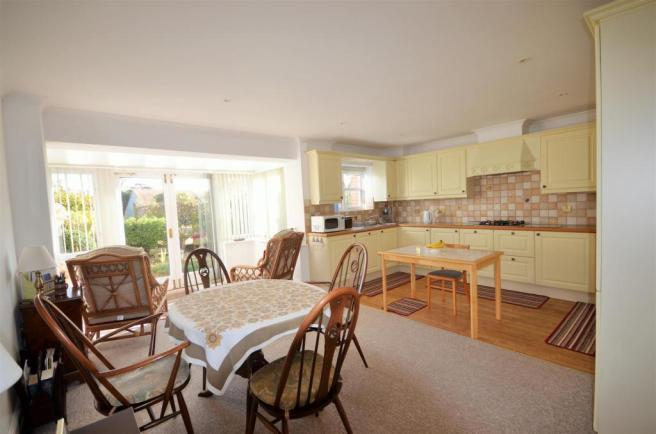 Kitchen/Dining and Conservatory
