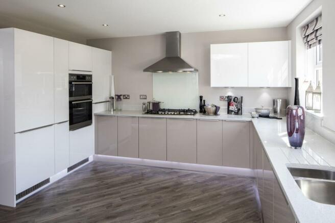 The Arbury kitchen