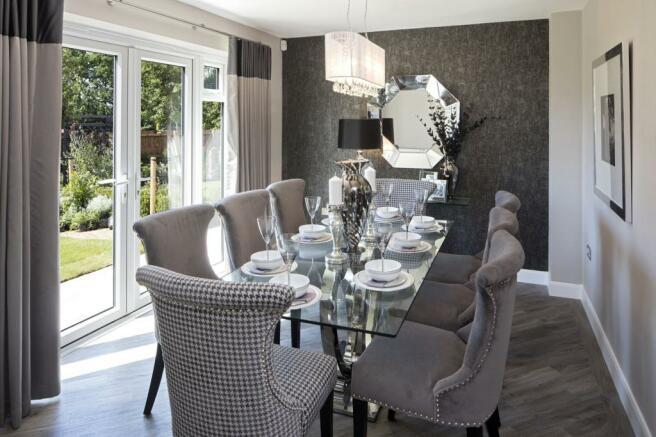 The Arbury Dining room