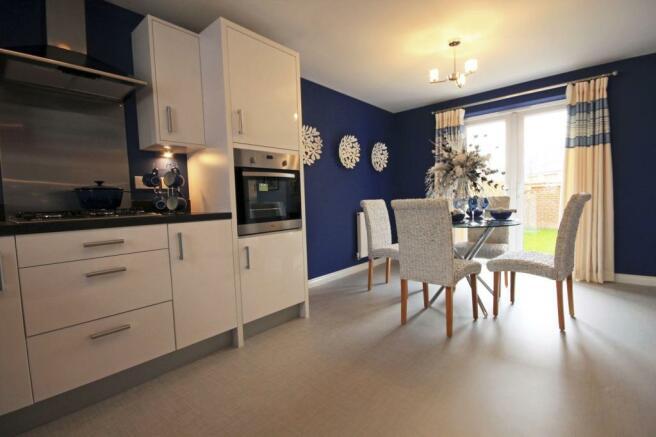 The Fairway kitchen/ dining room