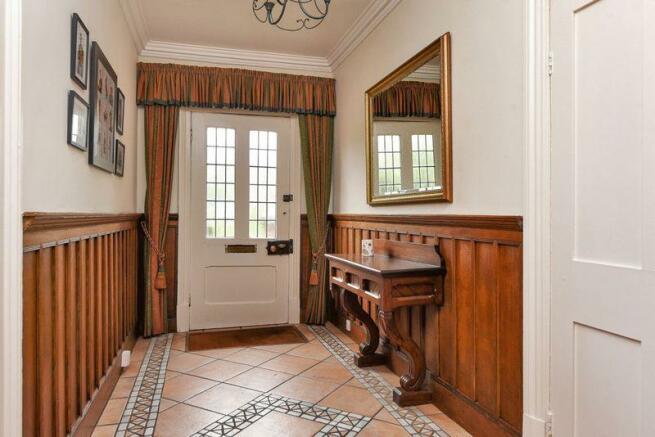 Tiled Entrance...