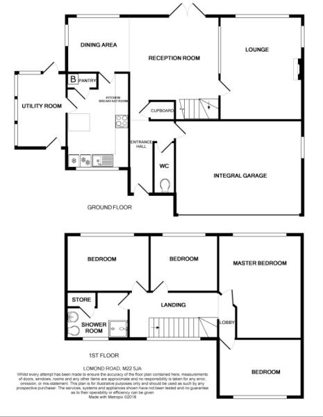 Lomond Road Floor Plan