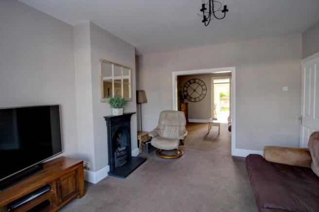 Lounge through to Dining Room
