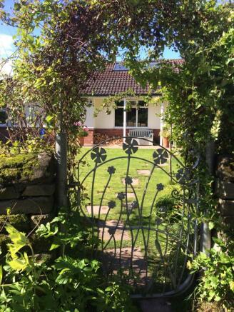 Gate towards house