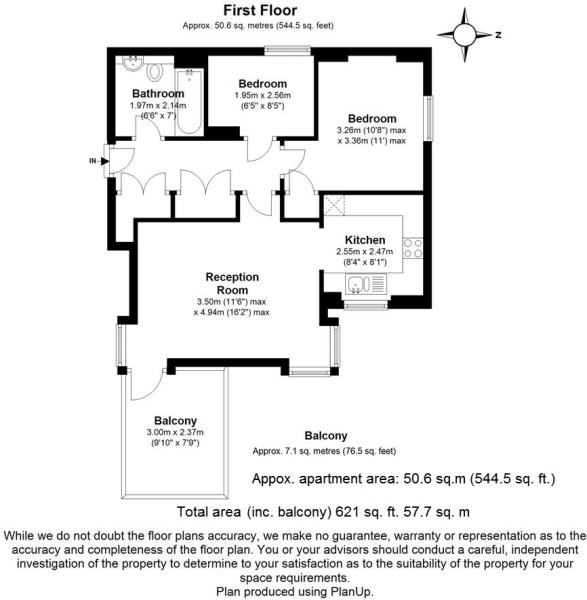 Flat 6, Morton HouseFP