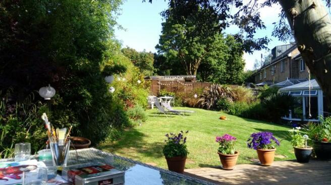 Brook garden