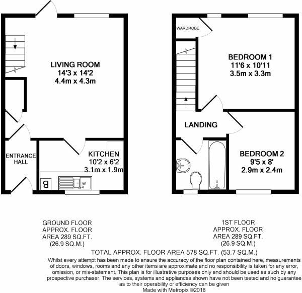 38 Bradenham Road Floorplan