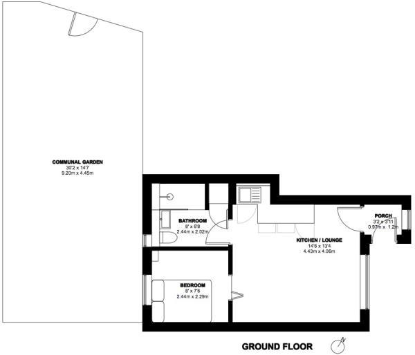 Floor Plan 2018 with garden 72