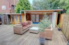 Rear Decking & Pool House