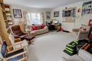 Reception/bedroom (converted garage)