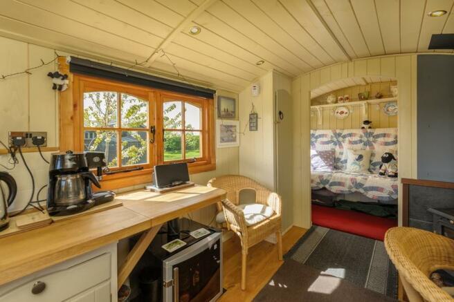 Shepherds Hut Interior View 1