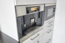 Integral Miele coffee machine and microwave