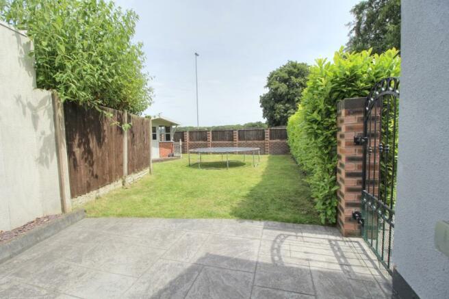 Chester - side garden