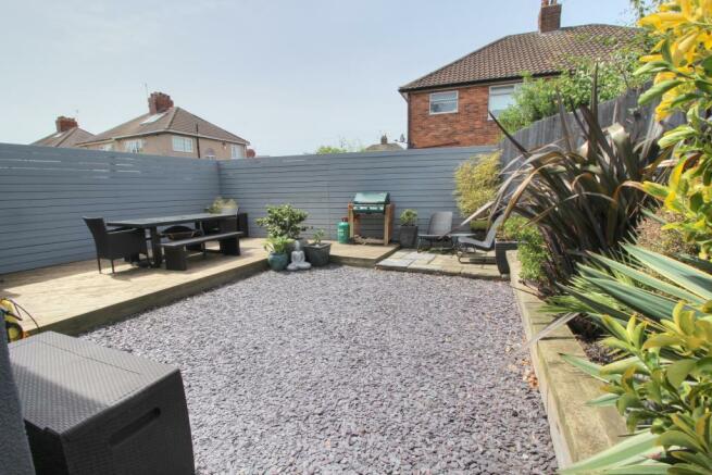 Chester - rear garden,