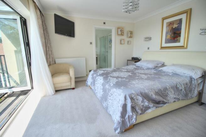 Moorland - Master bedroom