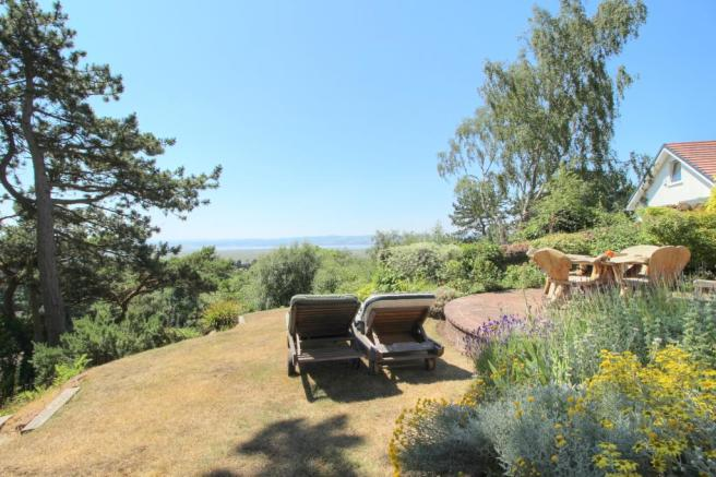 Moorland - rear garden and view