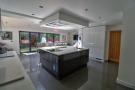 Open plan kitchen/living area