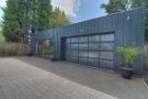Detached garage and studio flat